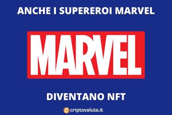 Marvel - ecco i NFT - di Criptovaluta.it