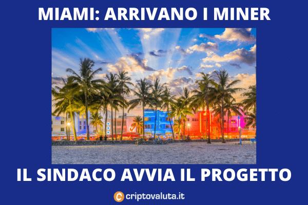 Miami Miner - la proposta del sindaco