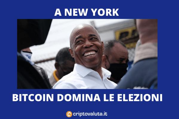 Elezioni New York Bitcoin