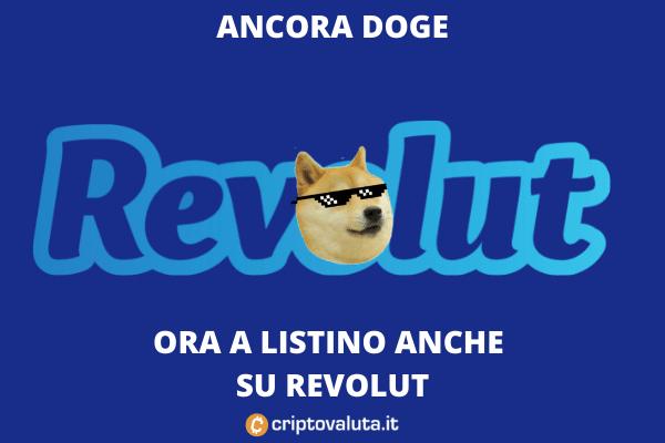 Dogecoin Revolut quotazione