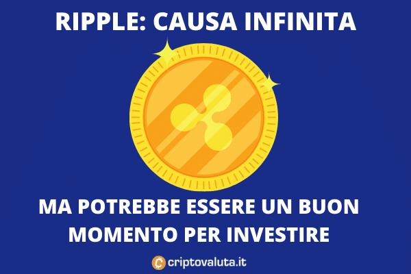 Ripple contro SEC - causa infinita - di Criptovaluta.it