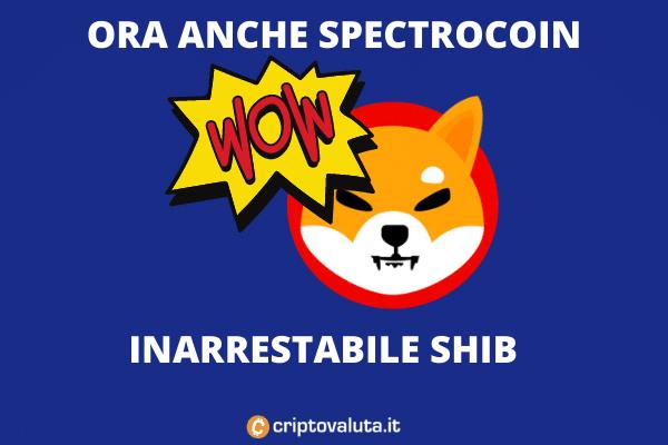 SHIB su SpectroCoin - analisi di Criptovaluta.it