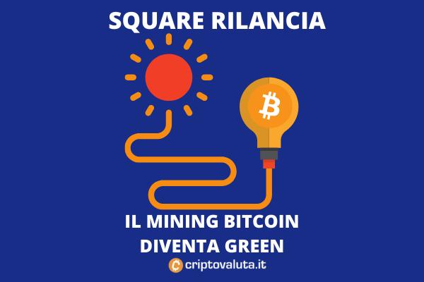 Energia Solare Bitcoin - Square Jack Dorsey - di Criptovaluta.it
