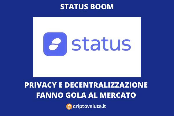 Status vola grazie agli speculatori - di Criptovaluta.it