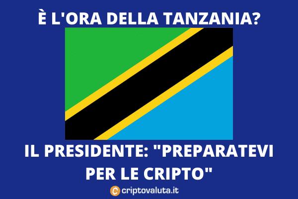 Tanzania - Bitcoin corso legale