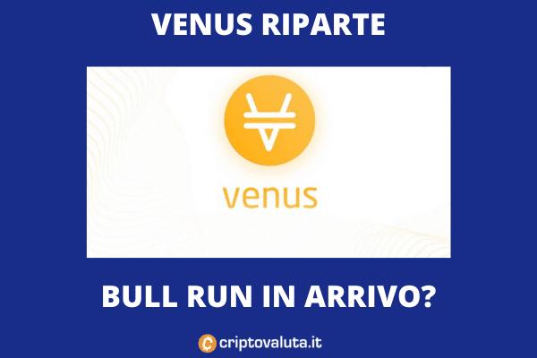 Crescita Venus - analisi di Criptovaluta.it
