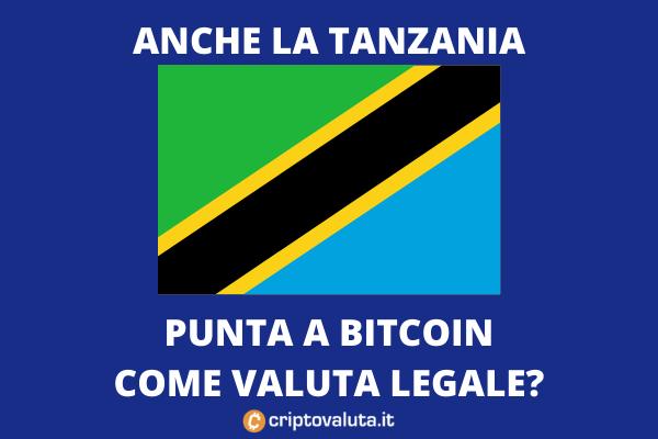 Tanzania accetta cripto - analisi di Criptovaluta.it