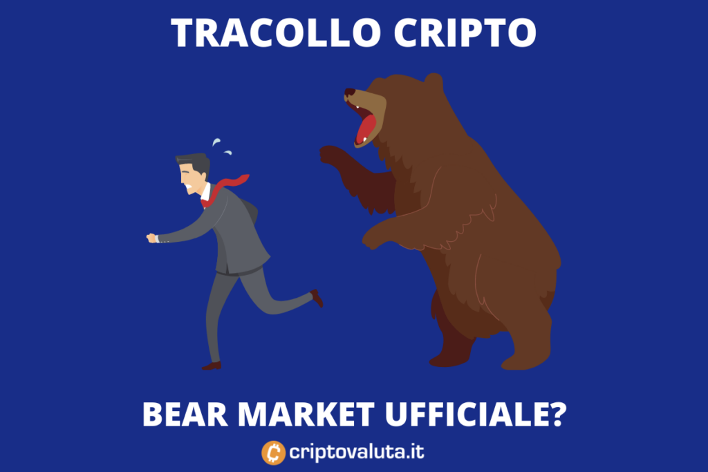 Tracollo cRipto - tempo di bear market - di Criptovaluta.it
