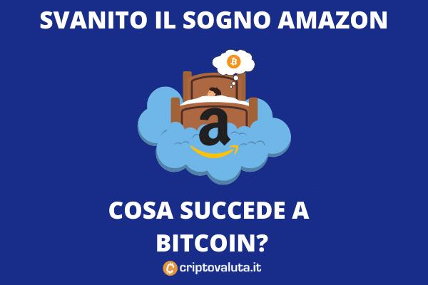 non amazon accetta bitcoin