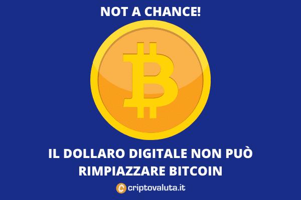 Powell e dollaro digitale - attacco a Bitcoin