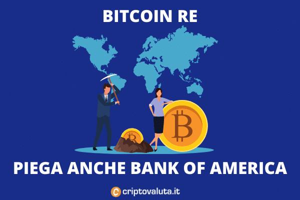 Bank of america - team ricerca cripto - di Criptovaluta.it