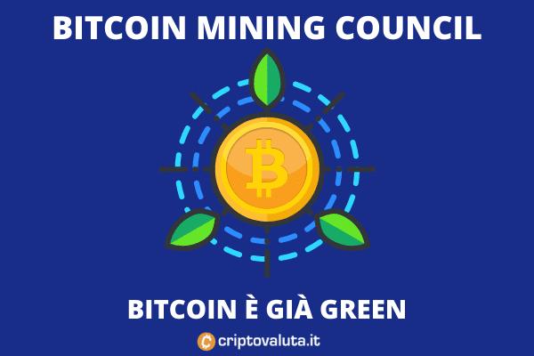 BMC report su Bitcoin Green - la nostra analisi