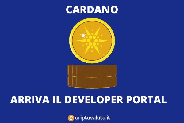 Cardano ADA - Developer portal per la transizione