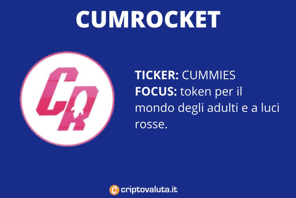 CumRocket - scheda di sintesi di Criptovaluta.it
