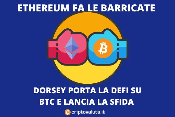 AAVE contro Bitcoin contro Ethereum - la lotta del momento