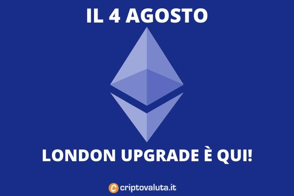 Ethereum, analisi di Criptovaluta.it sul London Upgrade