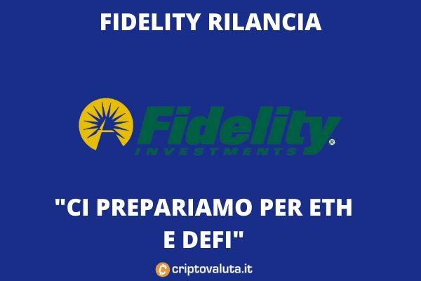Fidelity spinge sulle cripto - analisi di Criptovaluta.it