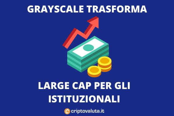 Large Cap - Grayscale cambia formato - di Criptovaluta.it