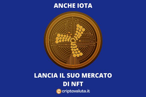 NFT di IOTA - arriva il marketplace