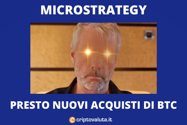 Microstrategy registra perdite, ma vuole comprare altri Bitcoin