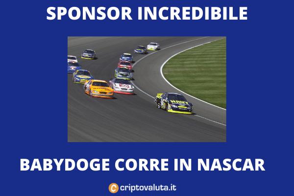NASCAR: Baby Doge will sponsor a race car
