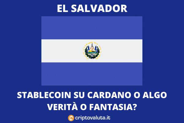 El Salvador - Colon Stablecoin - analisi di Criptovaluta.it