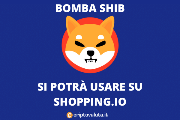 Shiba Token accettato su Shopping.io
