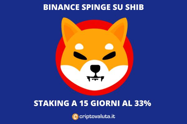 Binance staking Shiba INU
