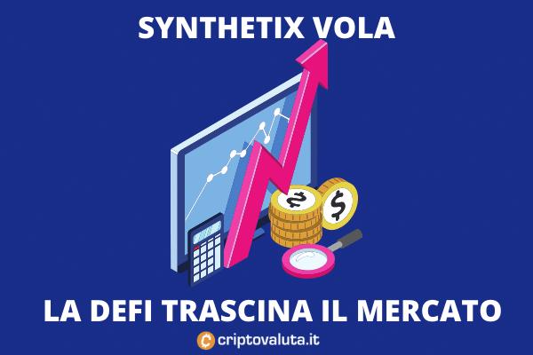Synthetix - bullish sentiment - l'analisi di Criptovaluta.it
