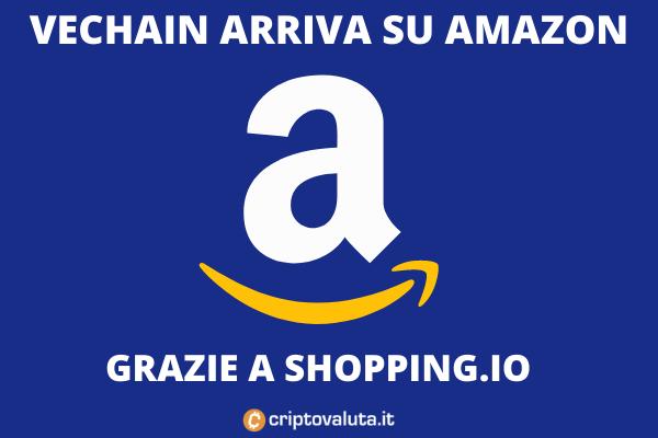 Shopping-io aggiunge VeChain