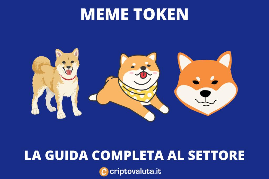 Meme Token - a cura di Criptovaluta.it - guida completa con infografiche