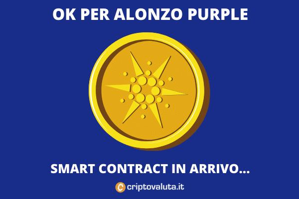 Alonzo Purple ok - cosa vuol dire per Cardano