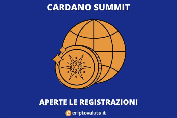Arriva il Cardano Summit - l'analisi di Criptovaluta.it