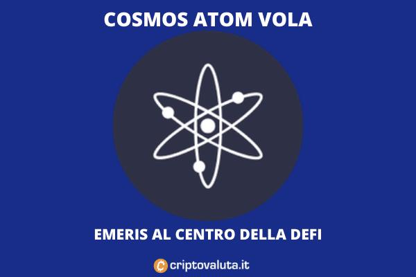 Cosmos Atom - analisi della bull run - di Criptovaluta.it