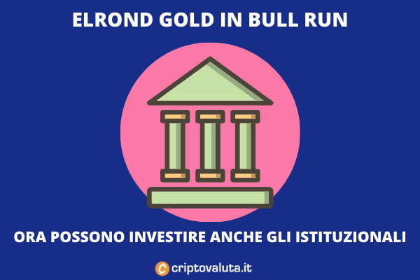 Accordo tra Copper e Elrond Gold - il token vola