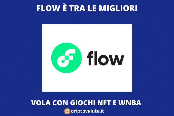 Flow: è nuovo boom di mercato - l'analisi di Criptovaluta.it