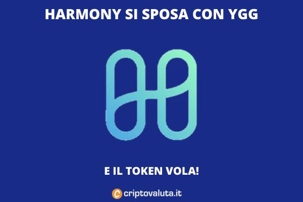YGG e Harmony sugli scudi - l'analisi tecnica di Criptovaluta.it