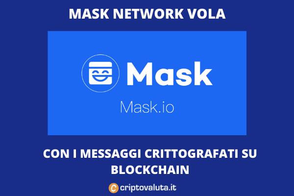 Mask Network boom sul mercato - di Criptovaluta.it
