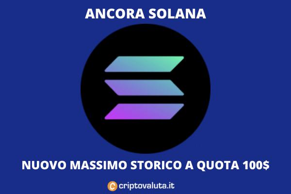 Solana Massimo storico - l'analisi di Criptovaluta.it