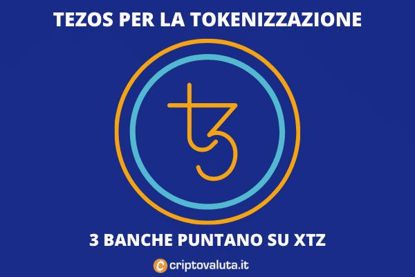 Tezos banche - l'analisi di Criptovaluta.it