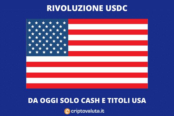 USA USDC TITOLI - di Criptovaluta.it