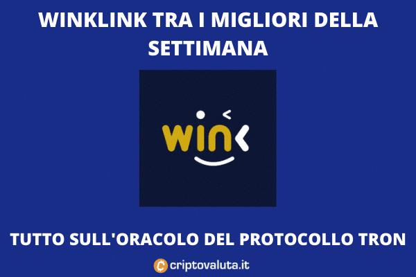 WINKLINK intro di Criptovaluta.it con analisi