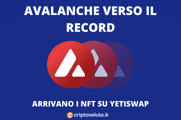 YetiSwap NFT su Avax - l'analisi di Criptovaluta.it