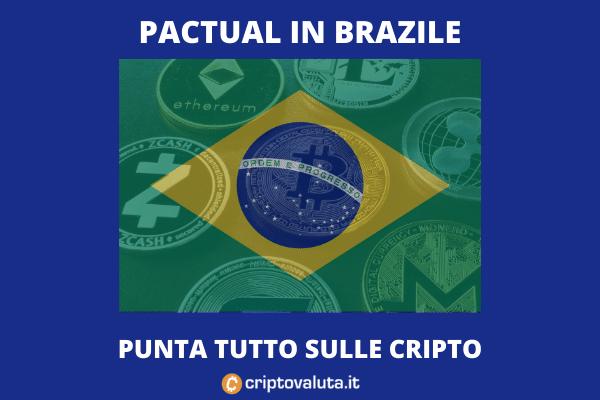 BTC Pactual - piattaforma per le cripto