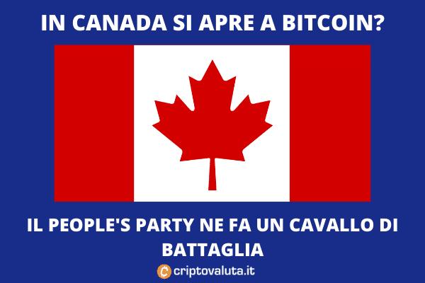 Canada come El Salvador? L'analisi di Criptovaluta.it