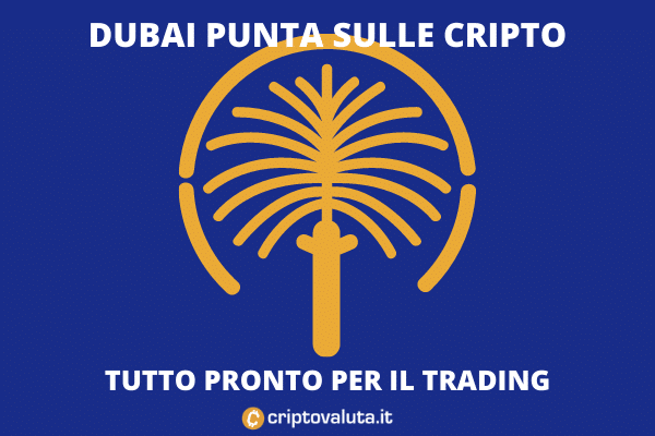 Dubai cripto - ok dall'authority locale