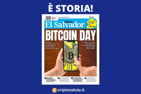 El Salvador - Bitcoin - è ufficiale - analisi di Criptovaluta.it