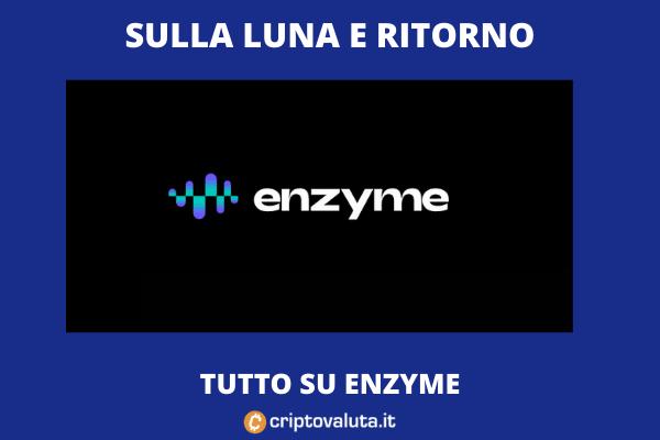 Enzyme 50% sul mercato - analisi
