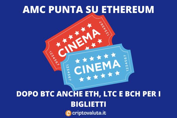 AMC accetterà Ethereum - di Criptovaluta.it
