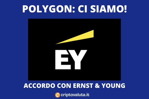 Polygon - accordo con EY - analisi di Criptovaluta.it
